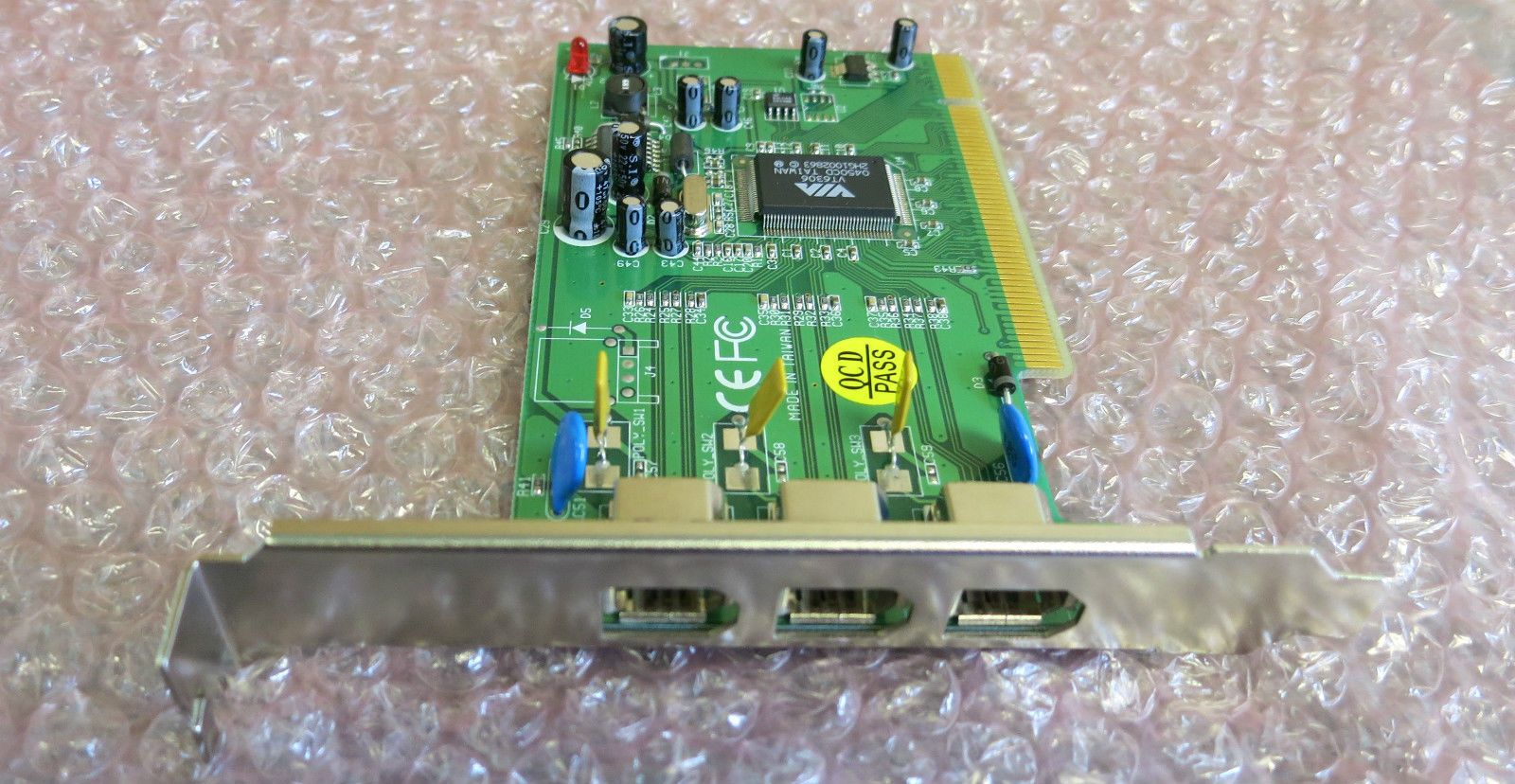 Via VT6306 3 Port PCI Firewire 400 Ieee 1394 Add-on Expansion ...